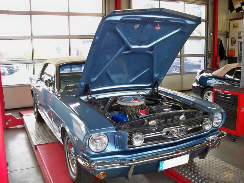 66_Mustang_Motorraum